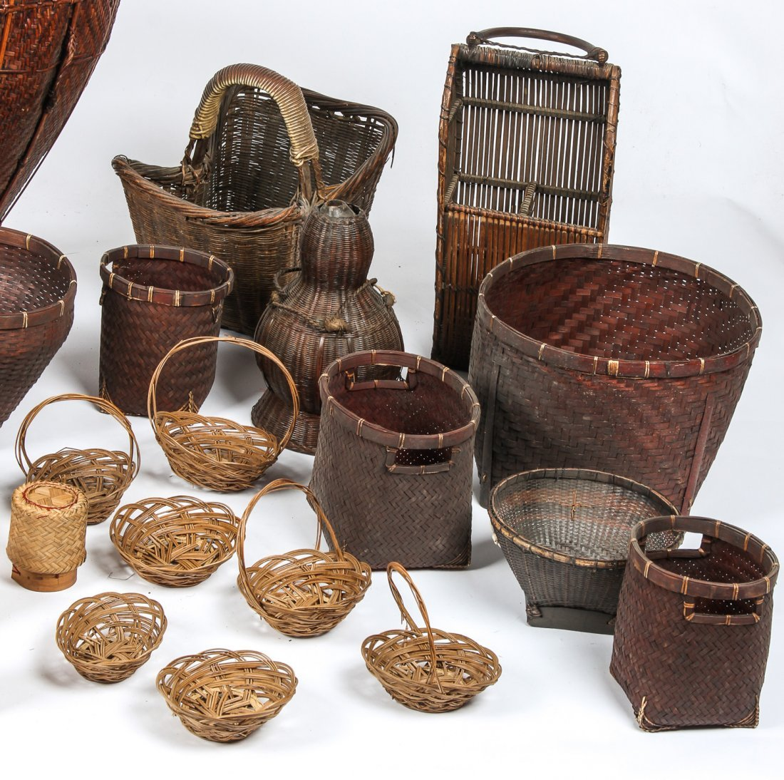 Collection of Various Ethnographic Baskets - 4