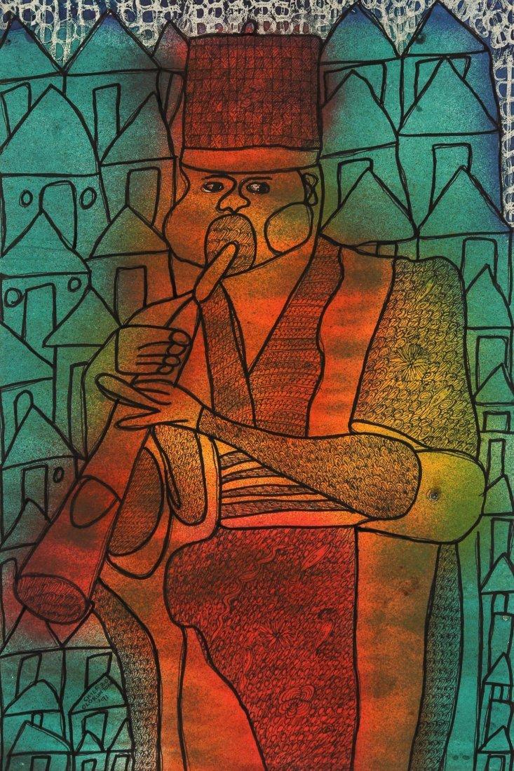 Zacheus Olowonubi Chief Oloruntoba (Nigerian, b. 1934)