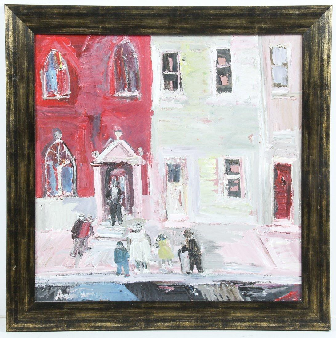 Andrew Turner (American, 1944-2001) City Street