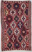 Antique Kuba Kilim 56 x 93 168 x 282 cm