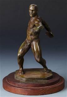 Joe Brown (American, 1909-1985) Bronze Sculpture