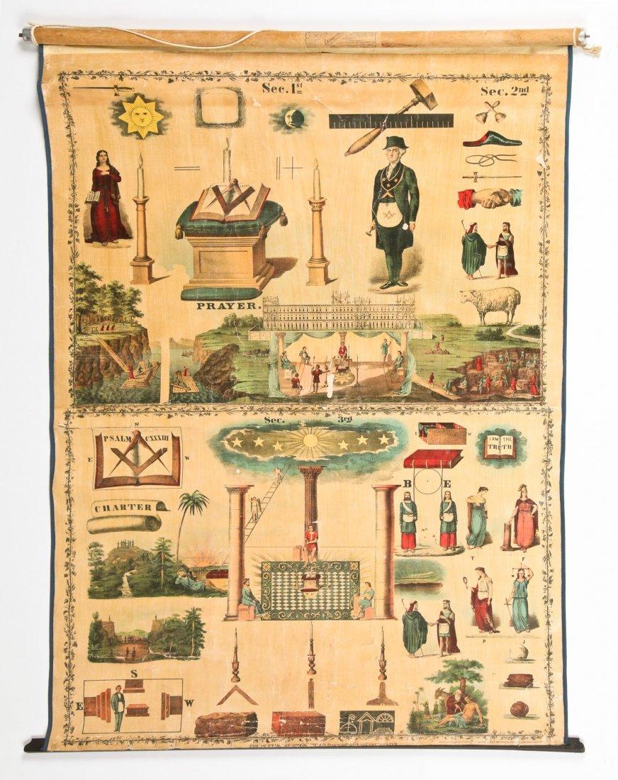 3 Sherer Masonic Mnemonic Charts - 2
