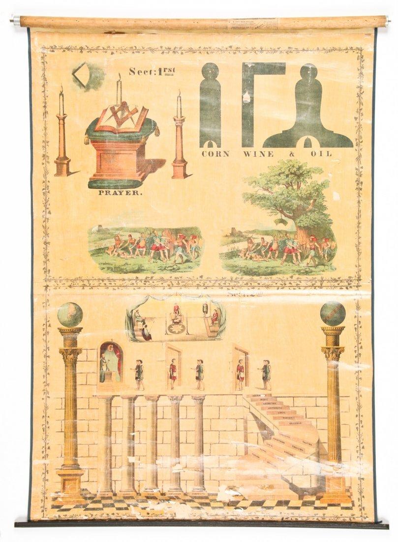 3 Sherer Masonic Mnemonic Charts - 3