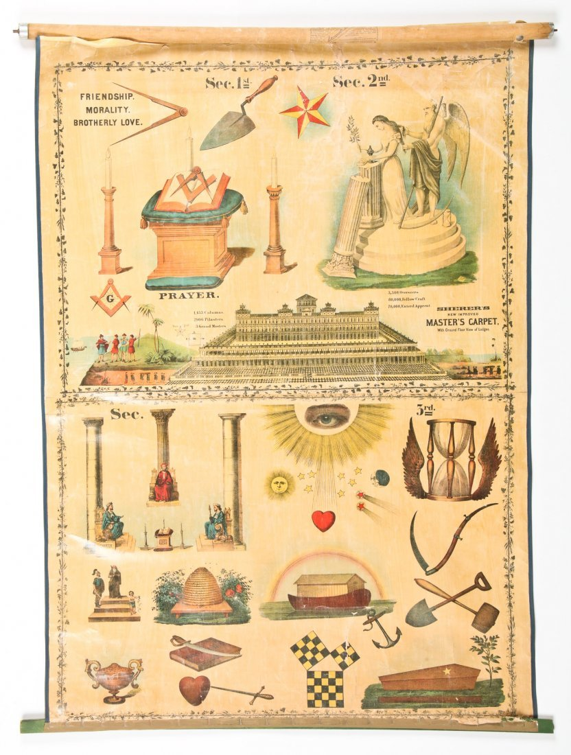 3 Sherer Masonic Mnemonic Charts - 4