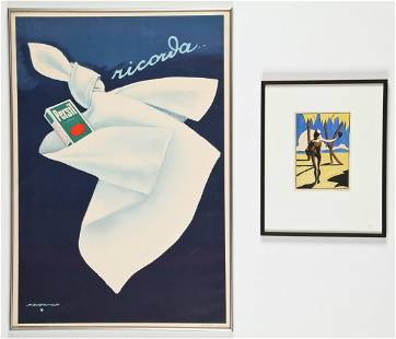 Two Works: Marcello Dudovich and Ruth Coyle