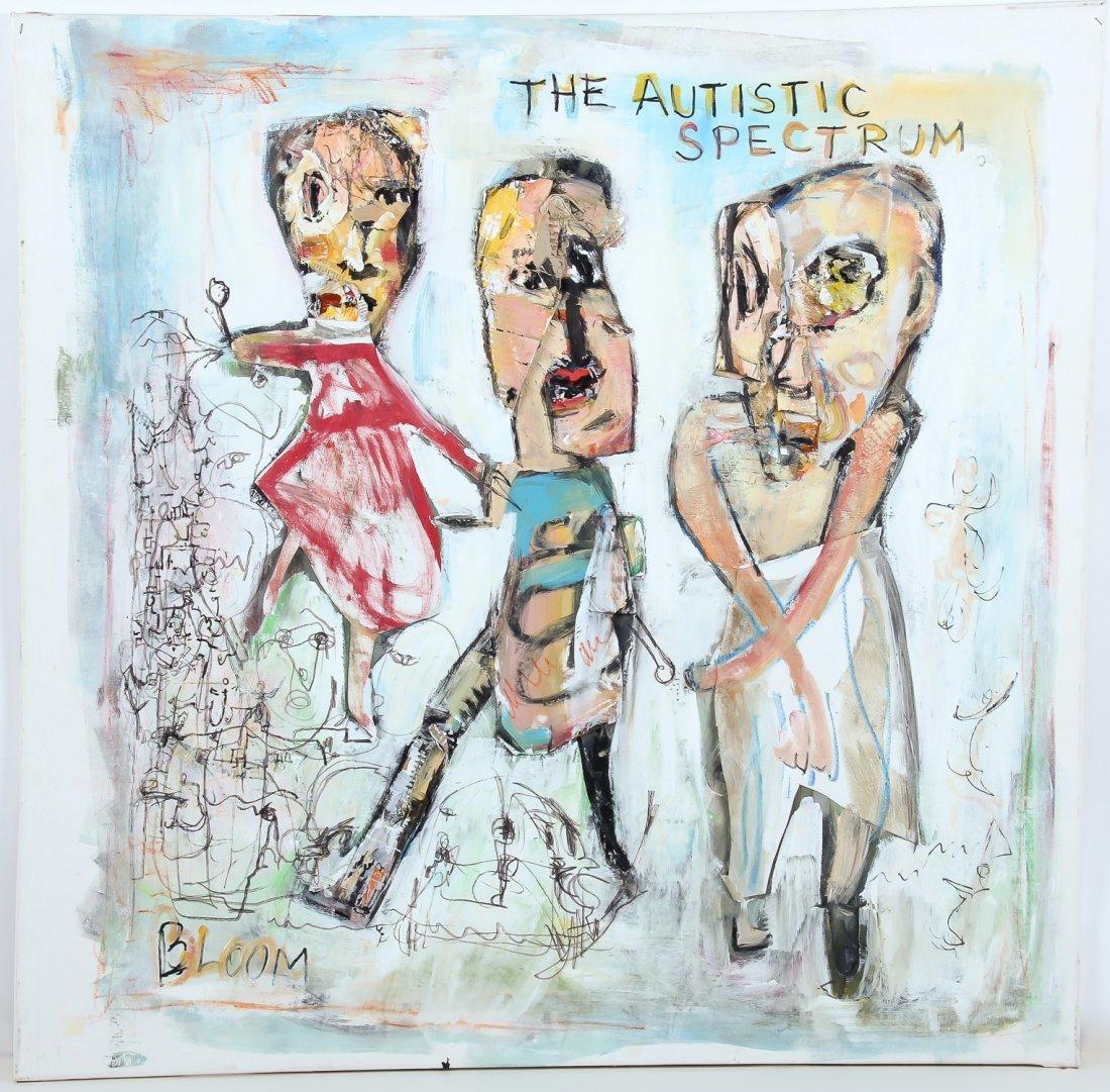 Jim Bloom (American, b. 1968) The Autistic Spectrum