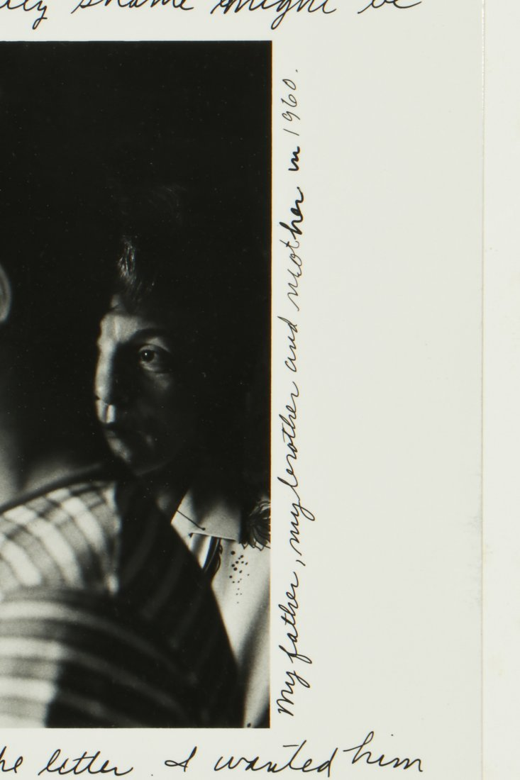"""Duane Michals (American, b. 1932) """"A Letter From My - 4"""