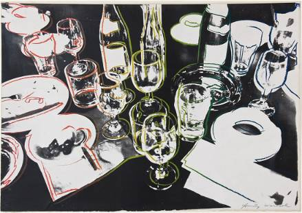 """Andy Warhol (American, 1928-1987) """"After the Party"""""""
