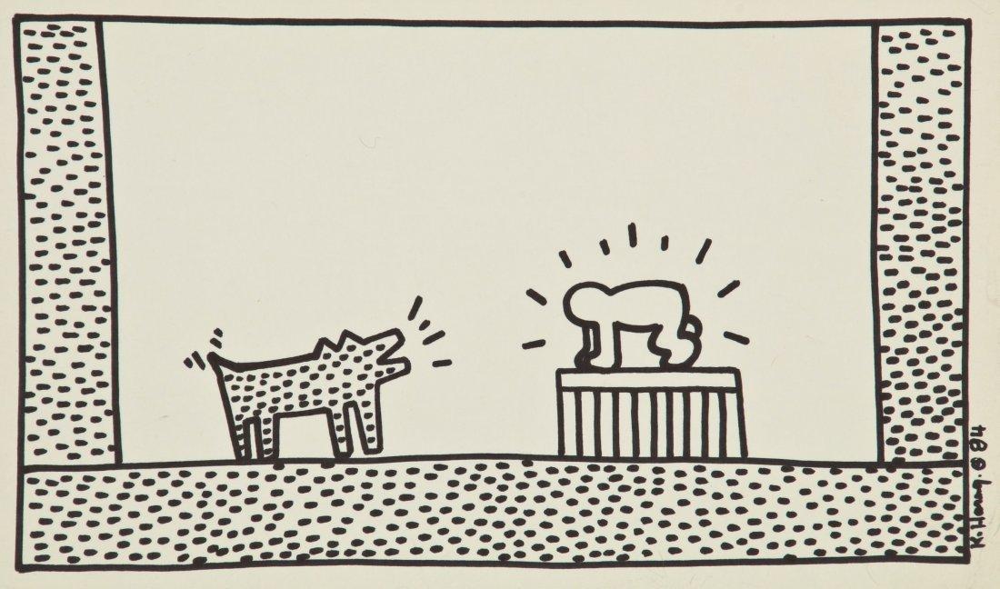 Keith Haring (American, 1958-1990) - 6