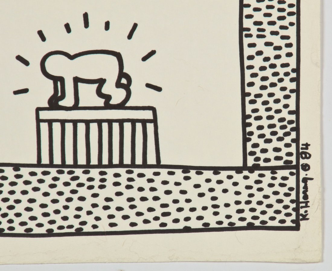 Keith Haring (American, 1958-1990) - 7