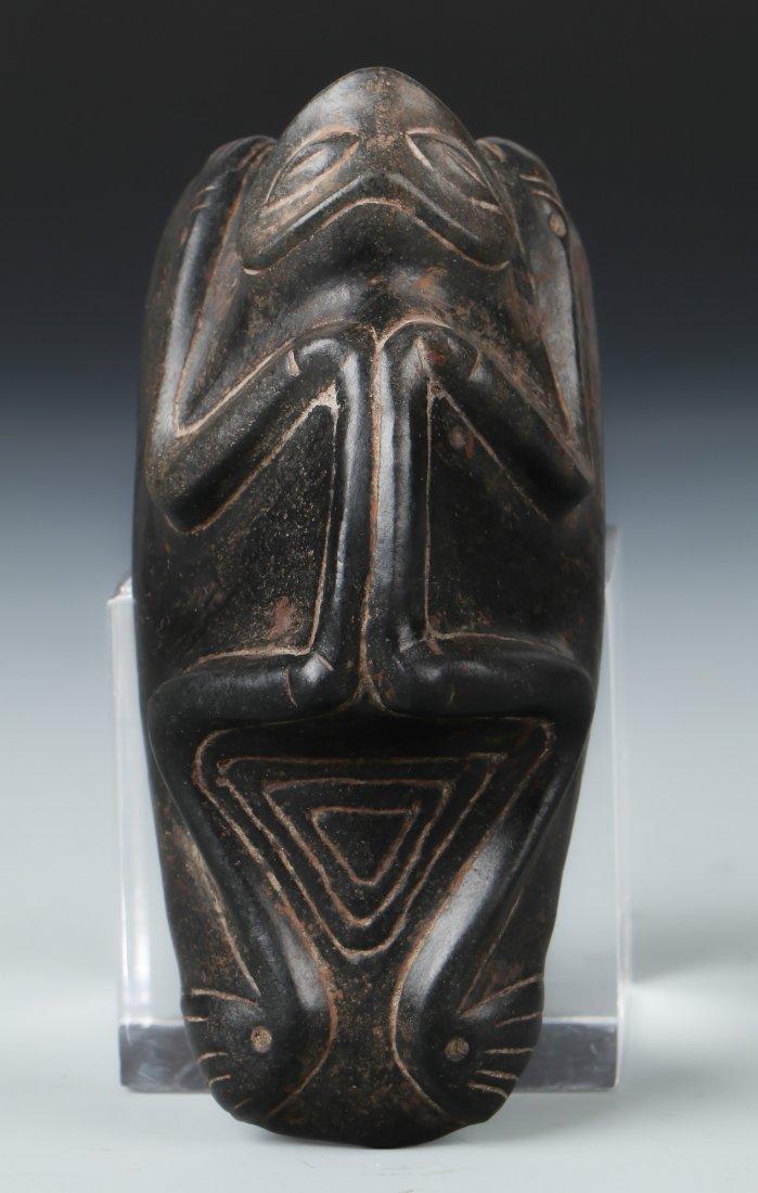 Taino Recumbent Skeletal Frog Man (1000-1500 CE)