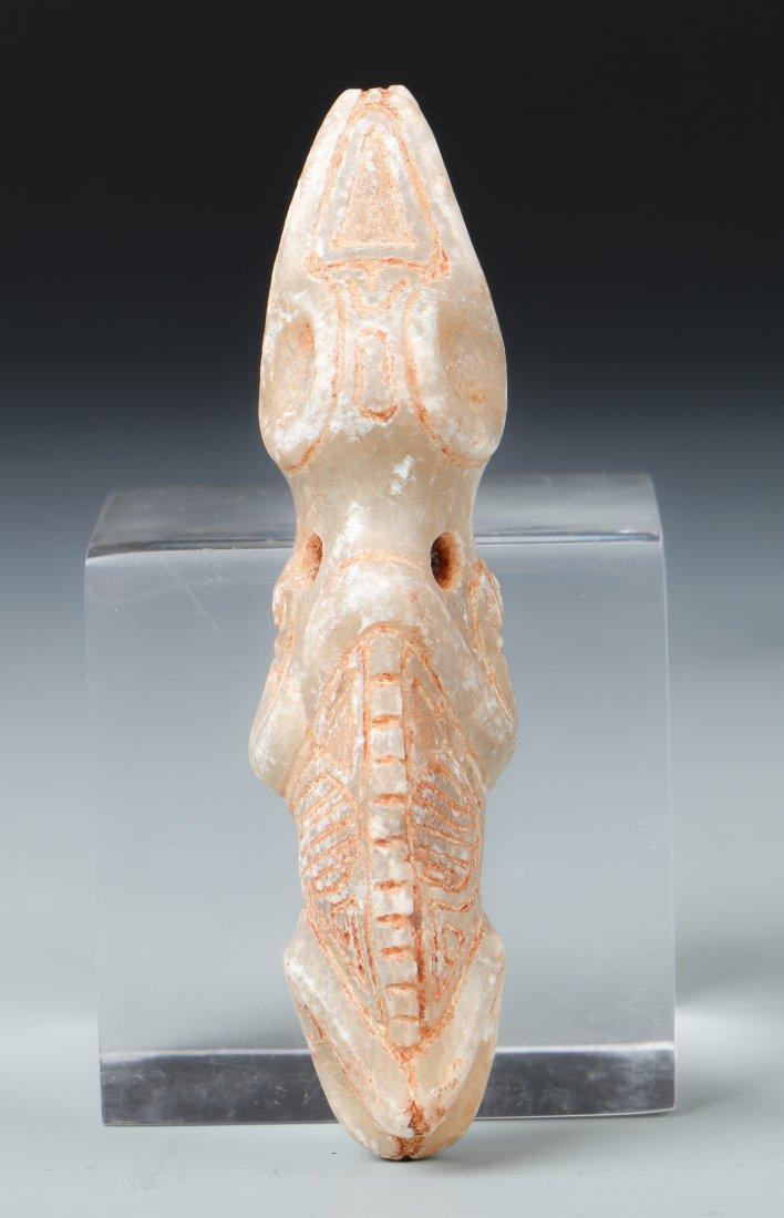 Taino Man/Iguana Transformation Pendant (1000-1500 CE)