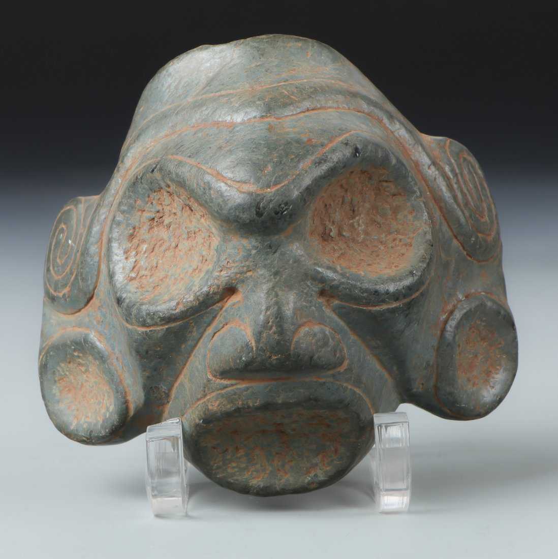 Taino Ancestral Face (1000-1500 CE)