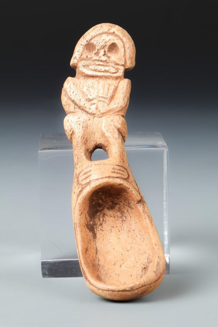 Taino Bone Ladle (1000-1500 CE)