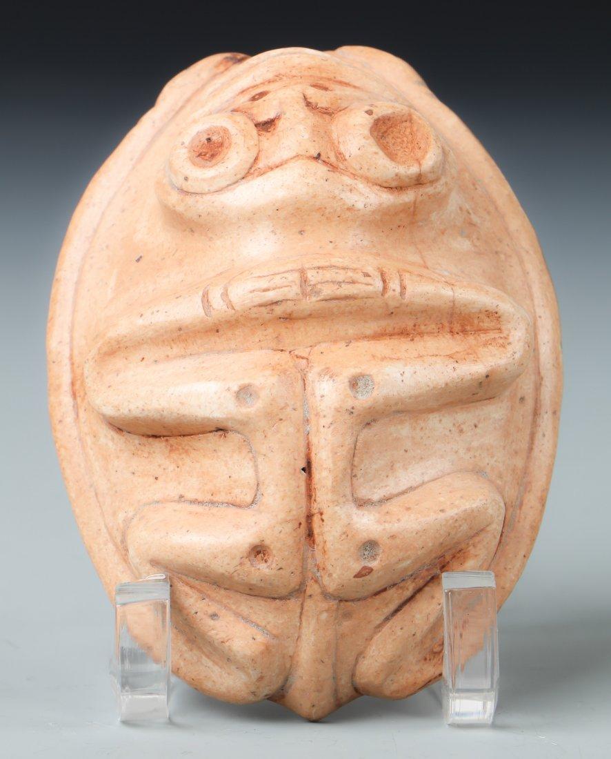 Taino Frog-Man Cemi/Stamp (1000-1500 CE)
