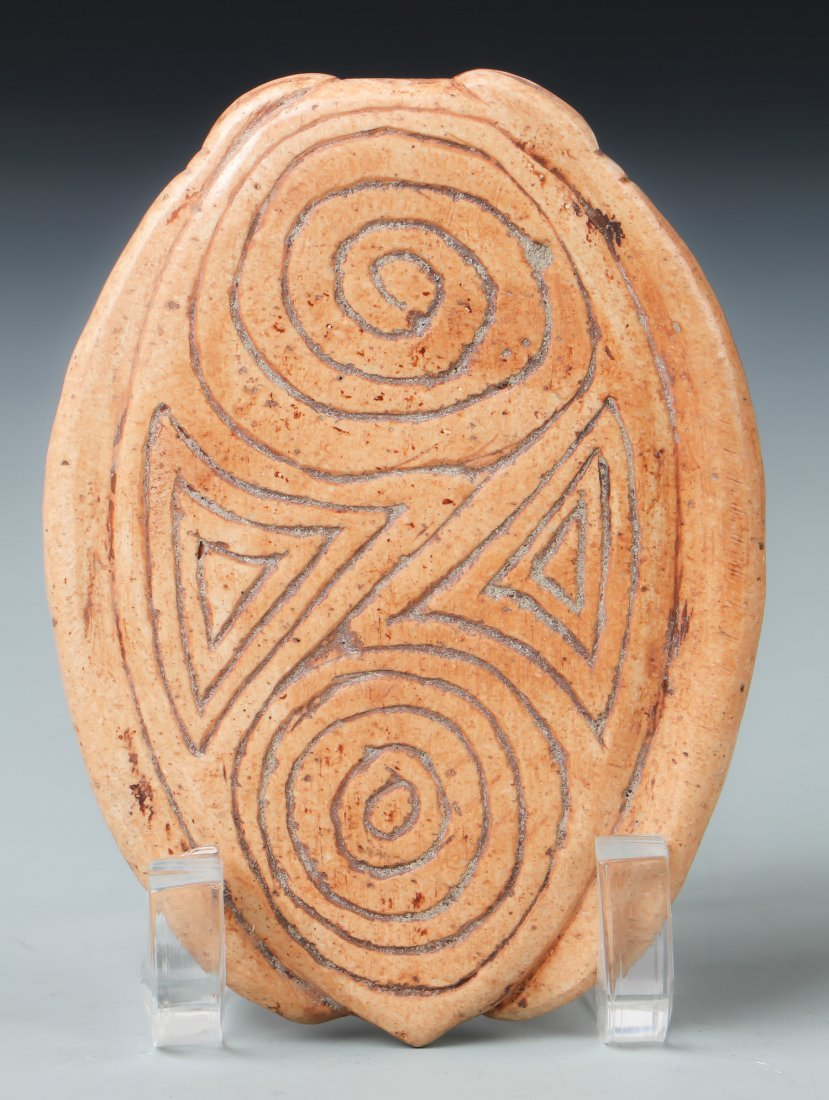 Taino Frog-Man Cemi/Stamp (1000-1500 CE) - 2