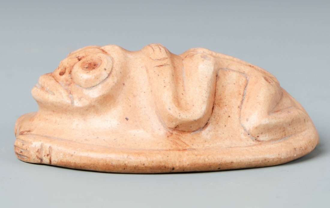 Taino Frog-Man Cemi/Stamp (1000-1500 CE) - 3