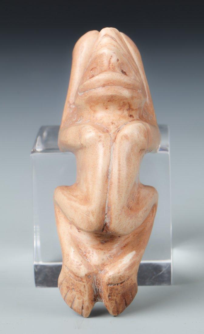 Taino Effigy in Recumbant Human Animal State (1000-1500 - 2