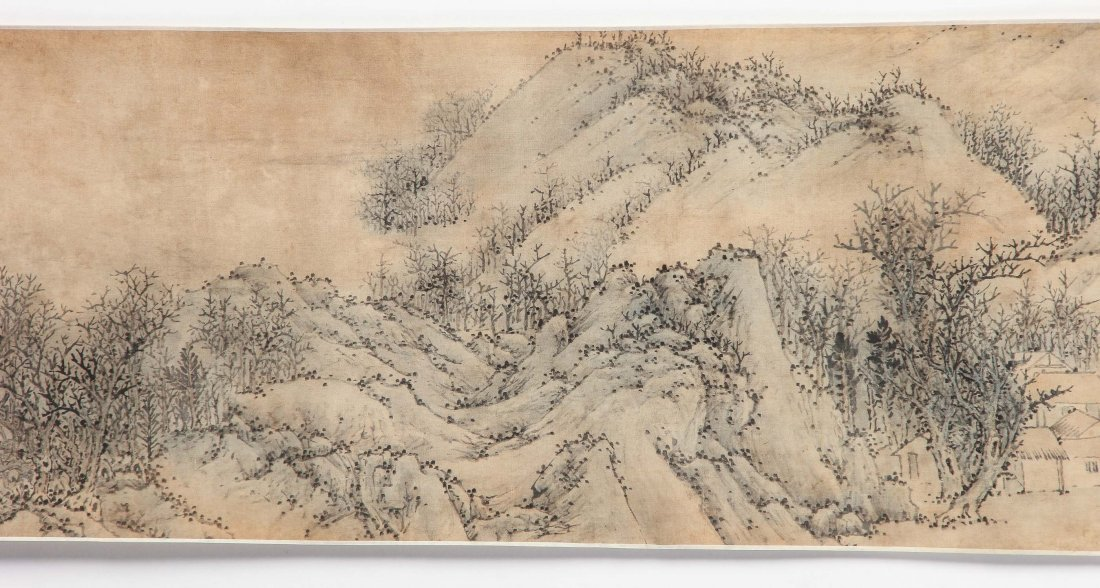 Chinese Landscape Scroll Painting - 2