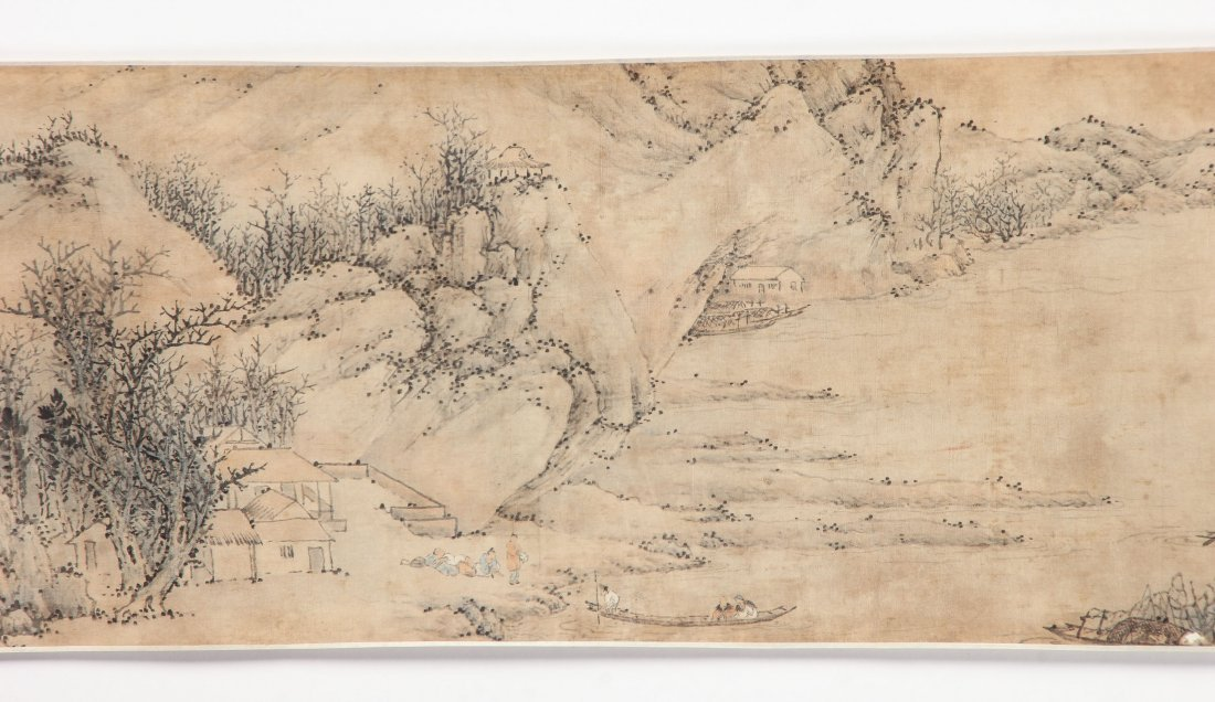 Chinese Landscape Scroll Painting - 3