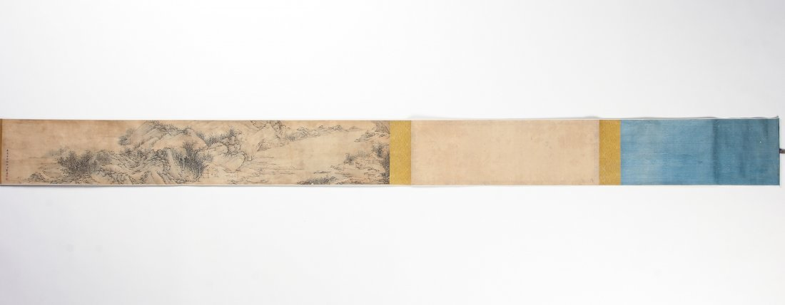 Chinese Landscape Scroll Painting - 8