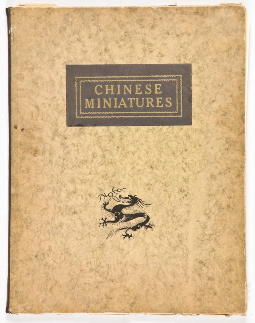 Chinese Miniatures. First series, Pictures from the