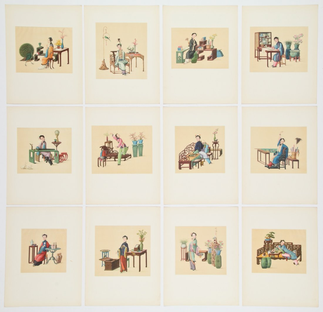 Chinese Miniatures. First series, Pictures from the - 2