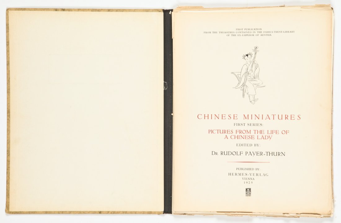 Chinese Miniatures. First series, Pictures from the - 5