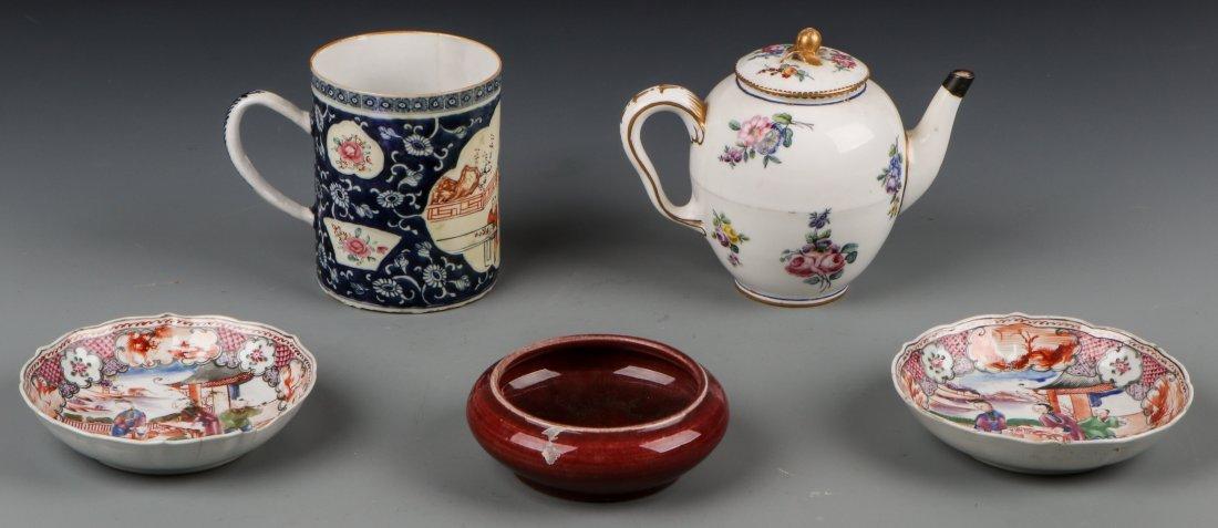 5 Pcs Chinese Export Porcelain