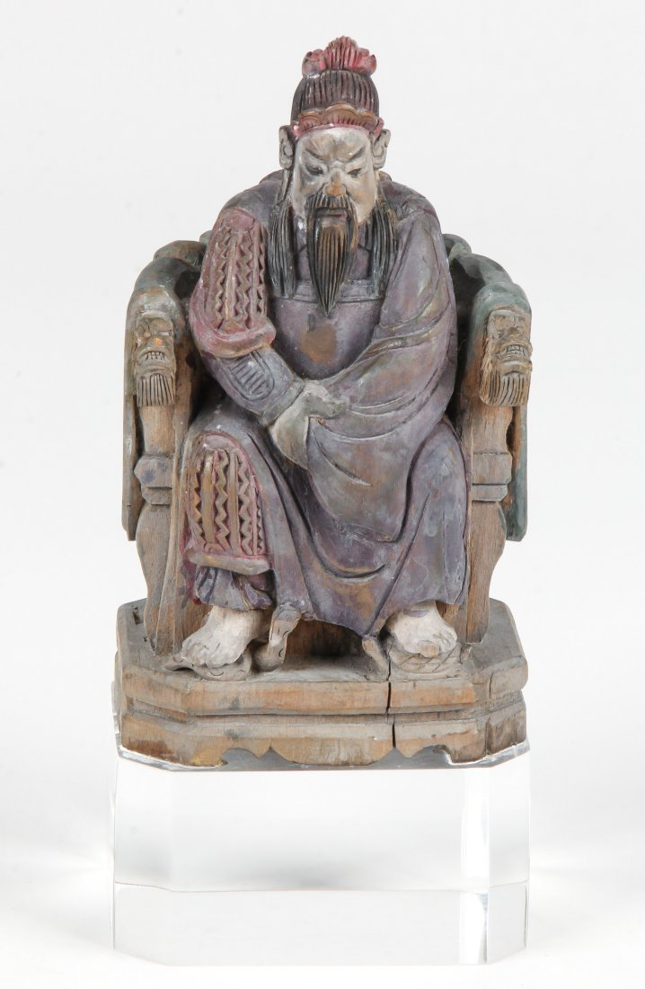 Chinese Dynastic Wood Carving