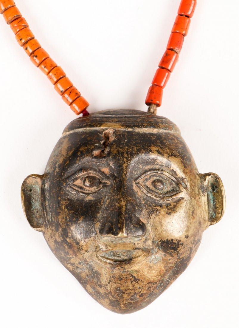2 Naga Beaded Head Hunter Necklaces - 3