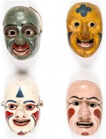 4 Rare and Fine Ecuadorian Masks