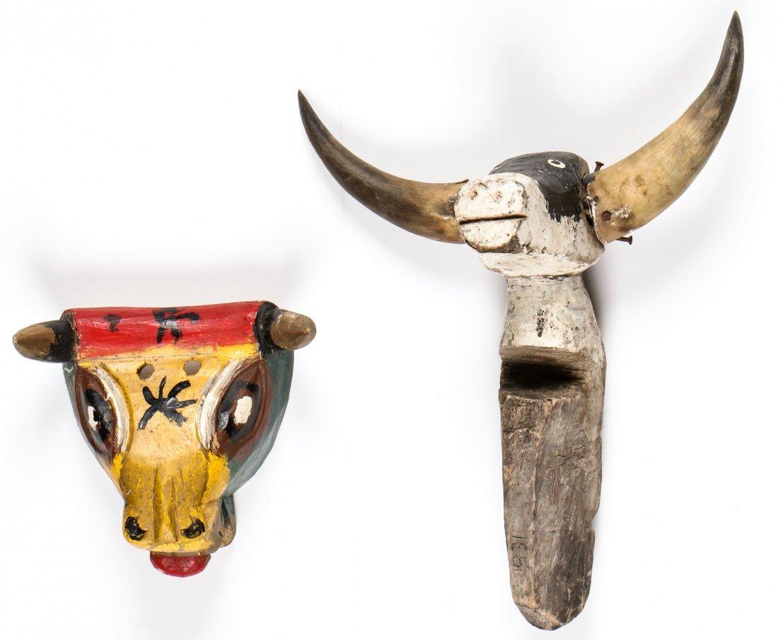 2 Vintage Mexican Bulls