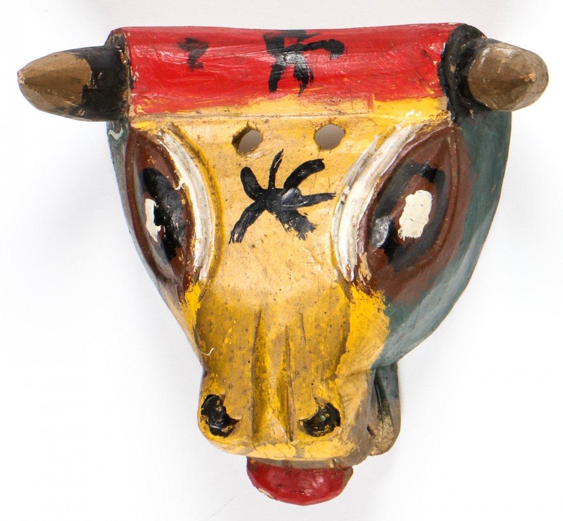 2 Vintage Mexican Bulls - 2