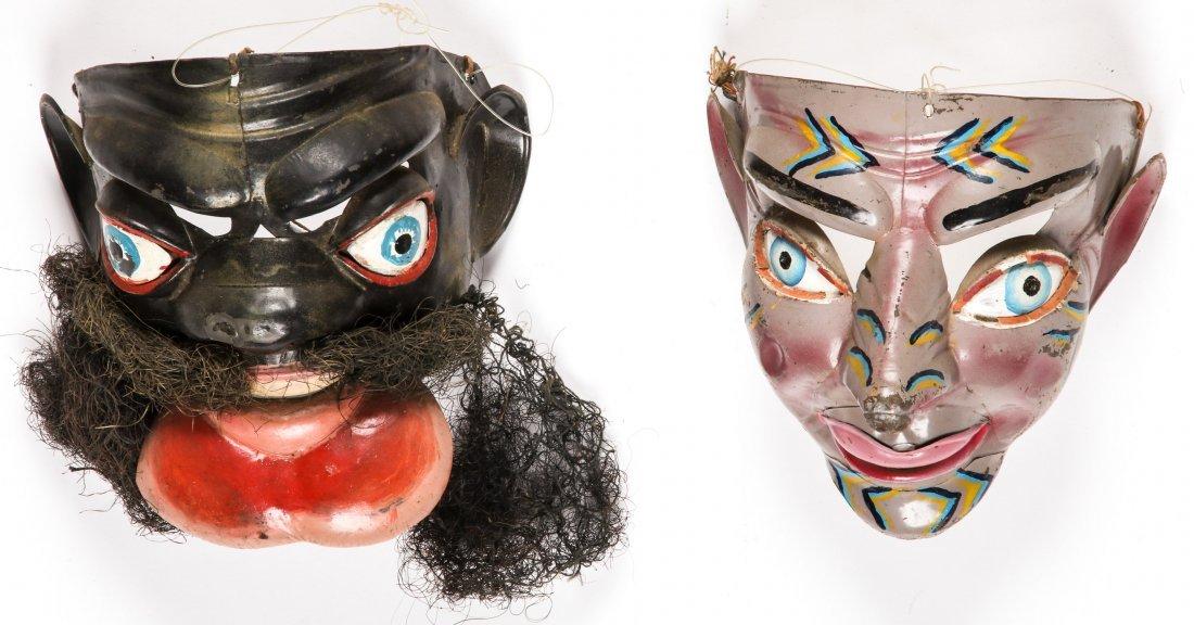 5 Vintage Bolivian Carnival/Dance Masks (1978) - 2