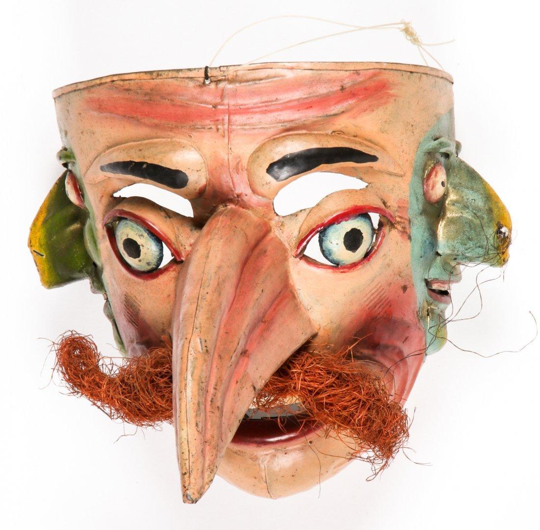 5 Vintage Bolivian Carnival/Dance Masks (1978) - 3