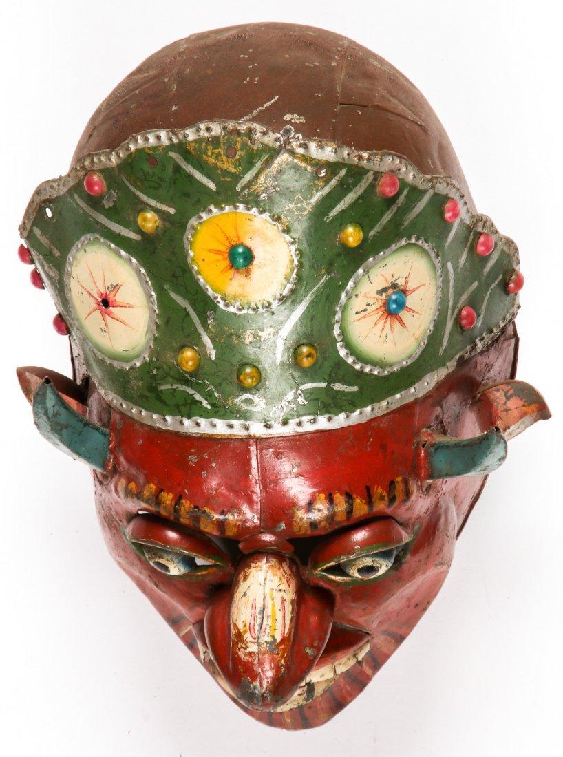 5 Vintage Bolivian Carnival/Dance Masks (1978) - 4