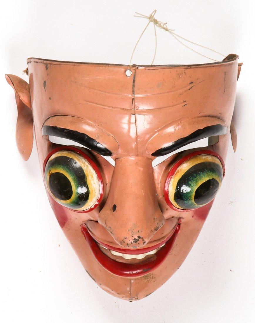 5 Vintage Bolivian Carnival/Dance Masks (1978) - 5