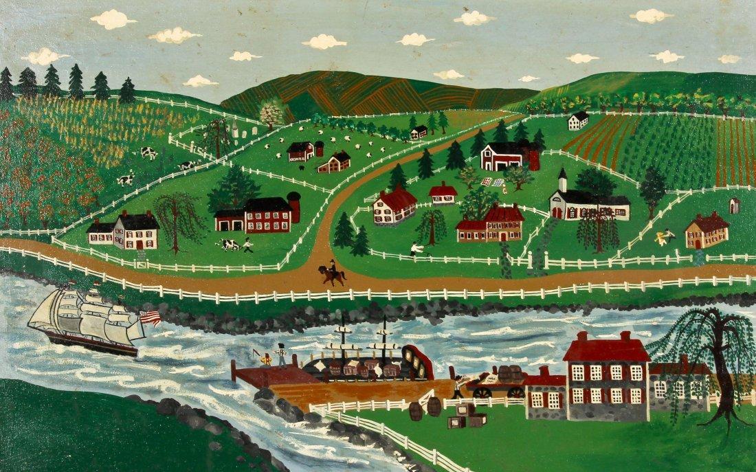 Phyllis Cicora Duffy (American, 20th c.) Landscape