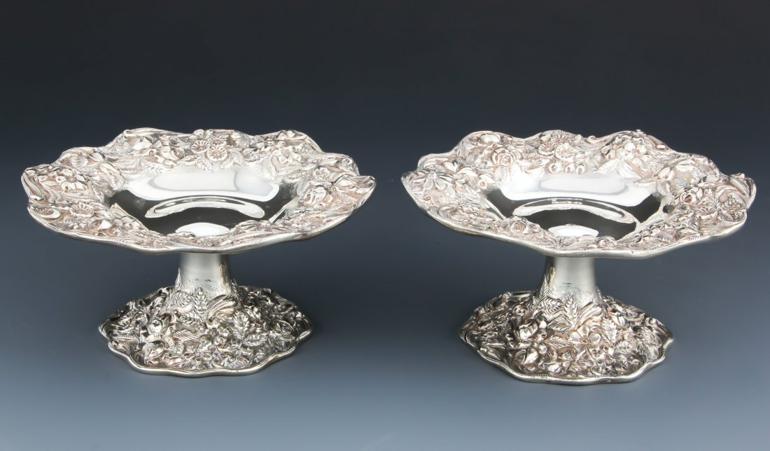 S. Kirk & Sons Sterling Silver Tazzae
