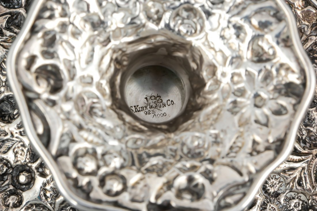 S. Kirk & Sons Sterling Silver Tazzae - 3
