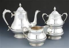 Randahl Four Piece Silver Tea Service