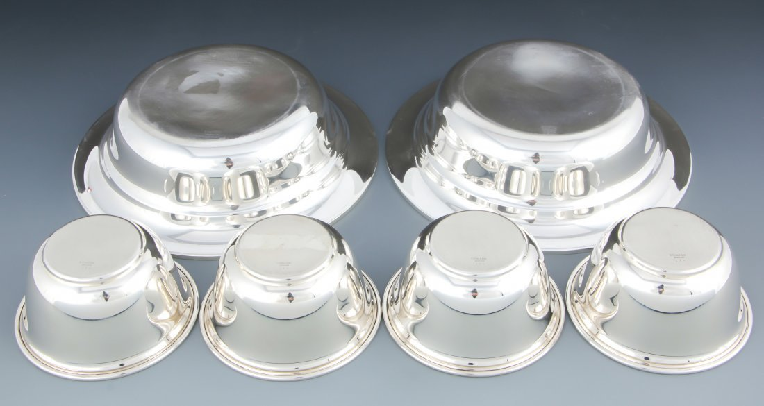 6 S Kirk & Son Sterling Silver Bowls - 2