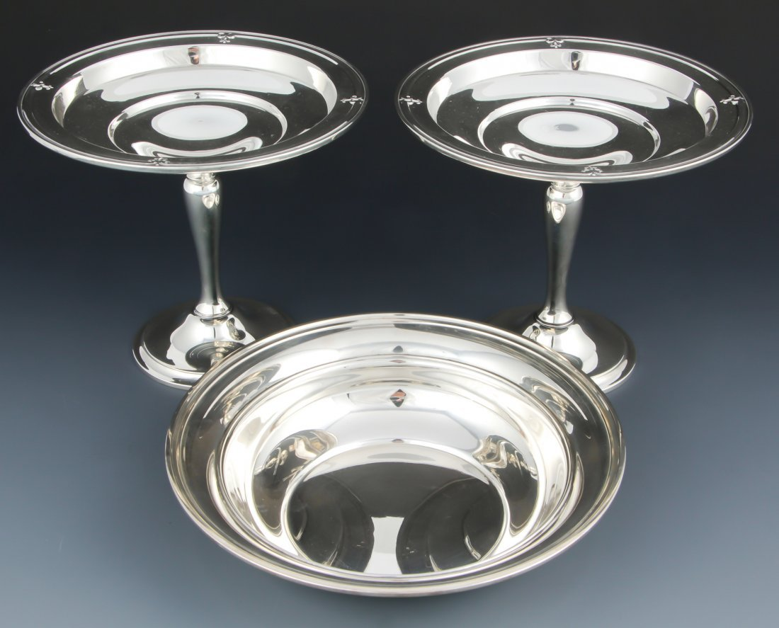 3 Gorham Sterling Silver Table Wares