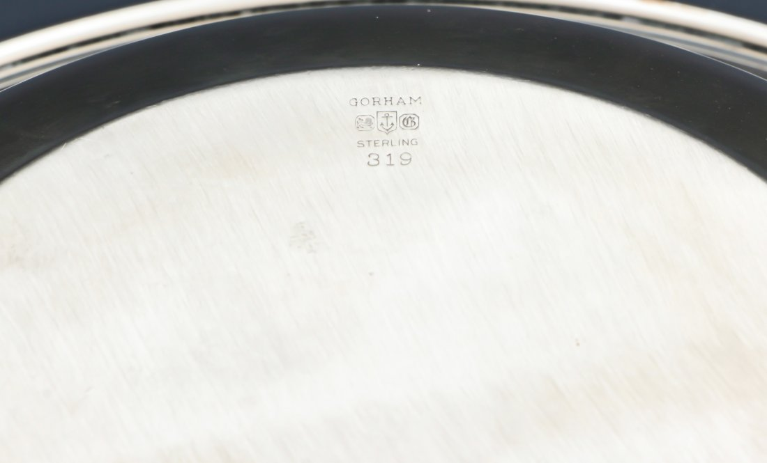 3 Gorham Sterling Silver Table Wares - 4