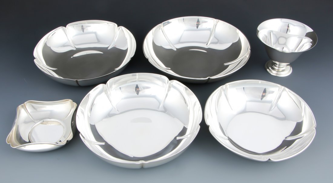 6 Randahl Sterling Silver Table Wares