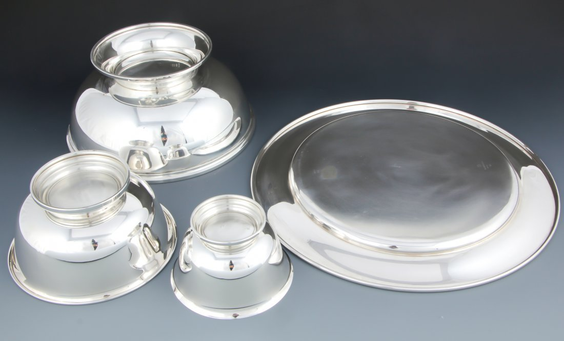 4 American Sterling Silver Table Wares - 2