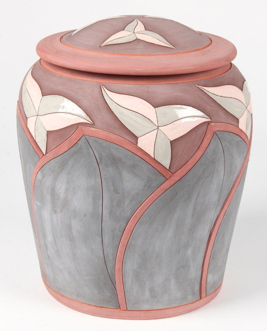 Don Cornett Lidded Art Pottery Jar