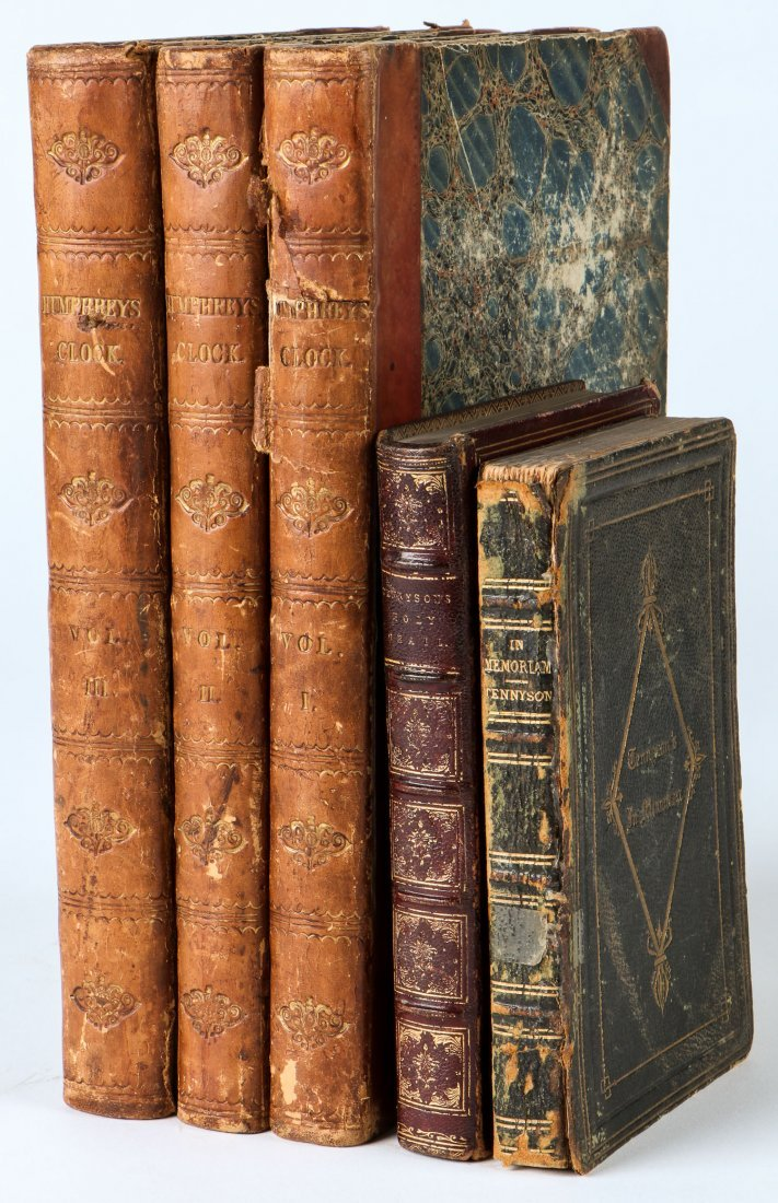 Group of Period Victorian Books