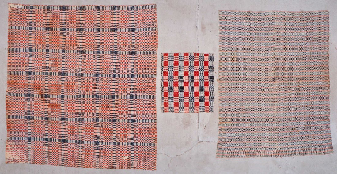 3 Antique American Textiles